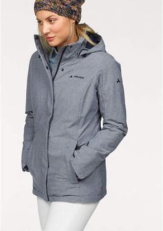 VAUDE winterjack »LIMFORD JACKET« Urban Life, Hooded Jacket, Rain Jacket, Windbreaker, Athletic, Jackets, Material, Fashion, Jacket With Hoodie