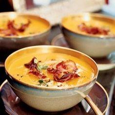 butternut squash soup with crisp pancetta more bucket list butternut ...