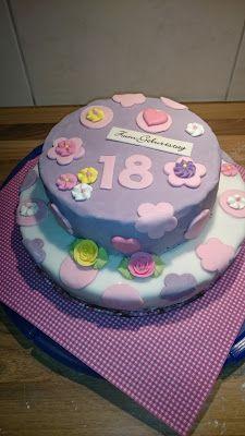 Die 7 Besten Bilder Von Geburtstagskuchen 18 Bakken 18th Cake Und