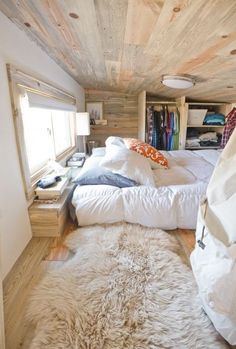 Quirky Californian mobile bedroom