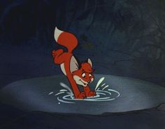 Disney Characters, Fictional Characters, Disney Princess, Foxes, Animals, Friends, Art, Black, Amigos