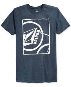 Volcom Men's Shovel Graphc-Print Logo T-Shirt