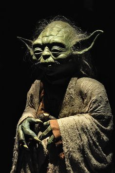 Yoda (Star Wars Exhibition) #yoda