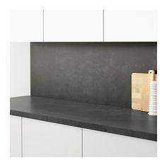 SIBBARP Spesialtilpasset veggplate  - IKEA Kitchen Solutions, Diy Dining, Laminate Wall Panels, Ikea, Kitchen Wall Panels, Laminate Worktop, Wall Paneling, Wood Laminate, Ikea Kitchen