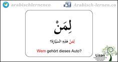 """""""Wem gehört?""""  arabisch-deutsch arabisch lernen"""