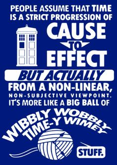 Wibbly Wobbly Timey Wimey Dr Who - Kids and Adults T-Shirts and Hoodies