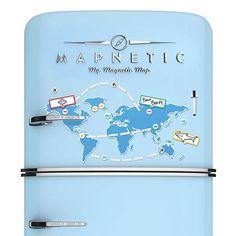 Luckies Magnetische Wereldkaart
