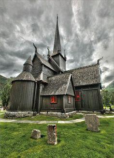 Old Norwegian Church   Very old Norwegian church   Churches   Pinterest