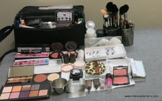 Makeup By Merry's edited Beauty Makeup kit- All I need for brides and beauty makeup.