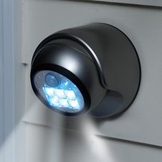This looks cool. Think I'll look into the design. - The 2X Brighter Cordless Motion Activated Light - Hammacher Schlemmer
