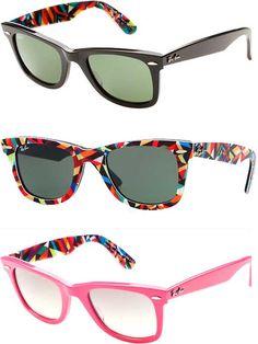 Custom Printed Attire by MWM Graphics >> Above: Ray Ban Sunglasses Prints