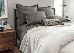 Parsons Natural Steel Bed - Modern Beds & Platform Beds - Modern Bedroom Furniture - Room & Board