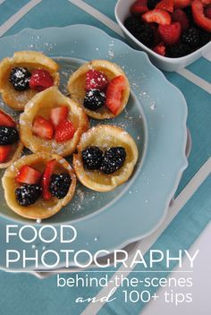 Over 100 Food Photography Tips from your favorite food bloggers!
