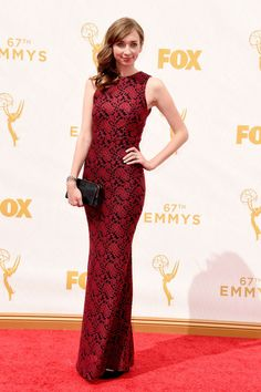 Lauren Lapkus at the 2015 Emmys. See what all the stars wore to the ceremony.