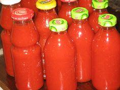 Fakanálforgató tollforgató: Ketchup házilag Ketchup, Ted, Hot Sauce Bottles, Preserves, Cooking Recipes, Canning, Automata, Chilis, Preserve