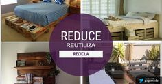 Las 3 'R' ecológicas son muy fácil de seguir: reducir, reutilizar, reciclar.
