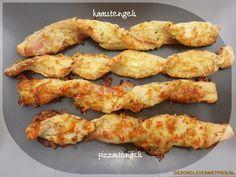 Kaasstengels en pizzastengels, glutenvrij en koolhydraatarm. Heerlijk recept voor krokante kaasstengels en variaties hierop. Lekker bij de borrel, soep of in de picknickmand.