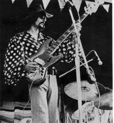 """My inspiration to be a Bassist in the first place.  Mel Schacher of """"Grand Funk Railroad"""" in about 1969"""