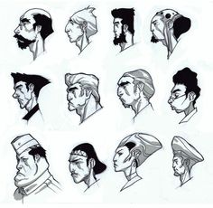 headstudies ✤ || CHARACTER DESIGN REFERENCES | キャラクターデザイン |  • Find more at https://www.facebook.com/CharacterDesignReferences & http://www.pinterest.com/characterdesigh and learn how to draw: concept art, bandes dessinées, dessin animé, çizgi film #animation #banda #desenhada #toons #manga #BD #historieta #strip #settei #fumetti #anime #cartoni #animati #comics #cartoon from the art of Disney, Pixar, Studio Ghibli and more || ✤