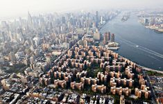 Stuyvesant Town Peter Cooper Village, Manhattan's largest apartment complex, lower right, stands in this aerial photograph taken over New York, Stuyvesant Town, City From Above, Empire State Of Mind, Upstate New York, Beautiful Buildings, Beautiful Places, New York Yankees, Ciel, Aerial View