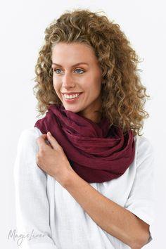 Linen Scarves. Linge De Coton · Vêtements Pour ... 0b1f235b28c4