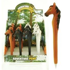 Horse Collectible Ball-Point Pen, 6-inch (1-pc Random) Streamline