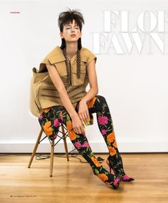 SCMP Style (South China Morning Post Style Magazine) - Floral Fawning