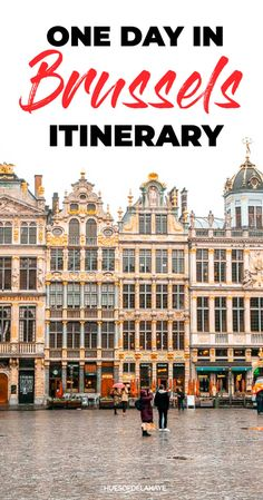 This one day in Brussels itinerary has everything you'll need to plan the perfect Brussels day trip, including top sights to see, best chocolates and waffles galore. Europe Travel Guide, Travel Guides, Travel Destinations, Travelling Europe, Travel List, Travel Advice, European Destination, European Travel, Best Places To Travel