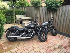 Harley Davidson Streetbob Special & Harley Davidson Forty Eight