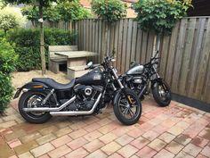 Harley Davidson Streetbob Special & Harley Davidson Forty Eight