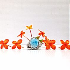 """One of nature's well kept secrets. This vivid blue exotic gemstone from the Caribbean named """"Larimar"""" is set in silver and crafted in this stunning mounting. Get this gorgeous piece before it's too late. Amazing deals ! #zhaveri #zhaverialaska Read more at http://websta.me/n/zhaveri/#KoqgB7sU0whcYvbH.99 Zhaveri Jewelers @zhaveri Instagram photos   Websta"""