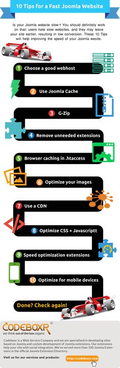10 Tips for a fast Joomla Website