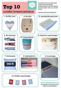 Kraamcadeaus top 10 #geboorte, #jongetjes, #meisjes