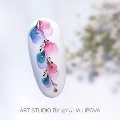 Nail Art Designs Videos, Nail Designs, Aqua Nails, Water Color Nails, Dope Nails, Nailart, Nail Wraps, Beauty Nails, Art Inspo