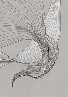 in memoriam - Tracie Cheng Art : Line art exercise Abstract Illustration, Abstract Art, Line Drawing, Painting & Drawing, Tracie Cheng, Ap Art, Elements Of Art, Organic Shapes, Art Inspo