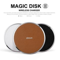 Nillkin Qi Magic Disk Iii Vintage Pu Wireless Charger Pad ForSamsung Htc Enabled Devices Charging Pad Phone Chargers From Archerslove, $17.39| Dhgate.Com