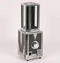 Stewart McGuire Art Deco Coin Op Gumball Machine.
