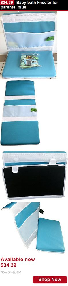 Baby Bathing Accessories: Baby Bath Kneeler For Parents, Blue BUY IT NOW ONLY: $34.39