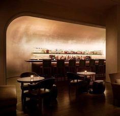 Lighting impeccable and inviting for intimate drinking The storied Pump Room Bar was a magnet for the beau monde in the hotel's heyday.