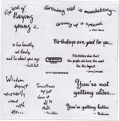 83 Best Card Sentiments Verses Birthday Images On Pinterest In
