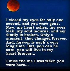 I miss you mom, I don't think I'll ever be okay. Rip Daddy, Miss Mom, Miss You Dad, Just For You, Love You, My Love, Requiem For A Dream, Missing My Son, I Carry Your Heart