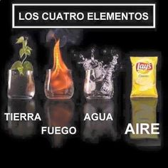 MIS 4 elementos, jajaja #memes #chistes #chistesmalos #imagenesgraciosas #humor www.megamemeces.c...