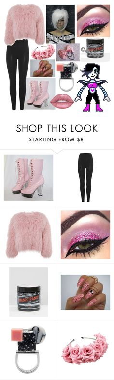 """Pastel Metteton X"" by dappershadow ❤ liked on Polyvore featuring adidas Originals, Charlotte Simone, Manic Panic NYC and Eshvi"