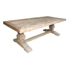 Marlow Recycled Pine Timber 240cm Dining Table