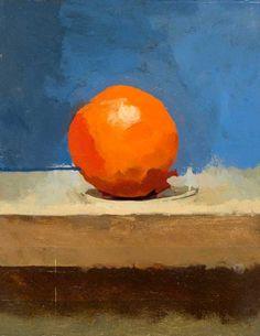 euan uglow, orange