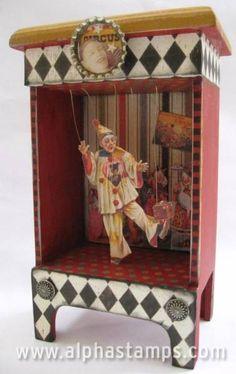 Clown Diorama