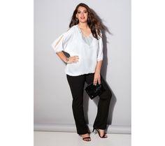 Kalhoty s pružným pasem vzadu   modino.cz #ModinoCZ #modino_cz #modino_style #style #fashion #trousers #bellisima