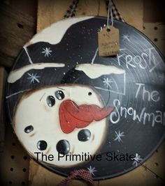 The Primitive Skate: Painting up some Snowmen...