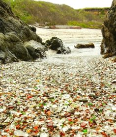 The Most Famous Sea Glass Beaches in the United States http://beachblissliving.com/best-sea-glass-beaches-america/