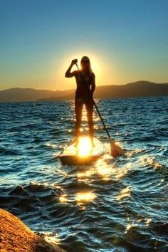 Stand Up Paddle Boarding *i so want to try this!